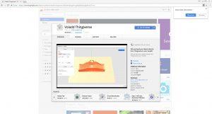 Hinzufügen der App in Chrom zum Zugriff auf Thingiverse und den kostenlose Modelle für hobby3DDrucker