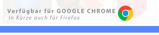 Das neue PlugIn für kostenlose Modelle für hobby3ddrucker in Google Chrome verfügbar